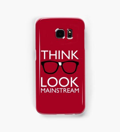 Think NERD Look MAINSTREAM Samsung Galaxy Case/Skin