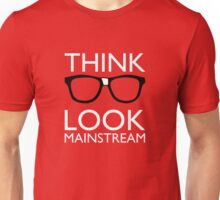 Think NERD Look MAINSTREAM Unisex T-Shirt
