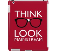 Think NERD Look MAINSTREAM iPad Case/Skin