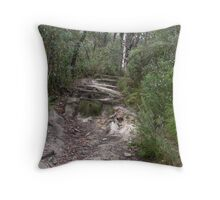 Forrest Paths Throw Pillow