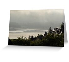 Sunrise over the Columbia River #11 Greeting Card
