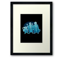 Some Hitch Hiking Ghosts Framed Print