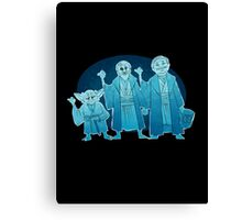 Some Hitch Hiking Ghosts Canvas Print
