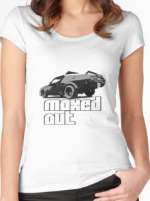 MAXED OUT Women's Fitted Scoop T-Shirt