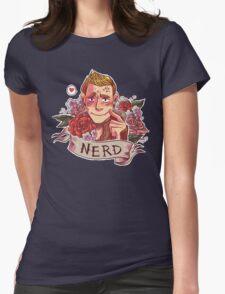 NERD NIGHT Womens Fitted T-Shirt