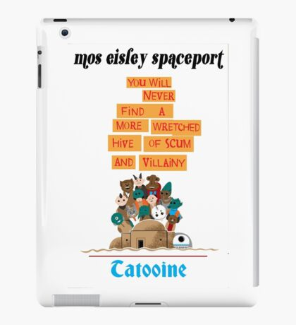 It's a Small Cantina iPad Case/Skin