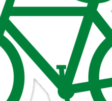 bike route Sticker