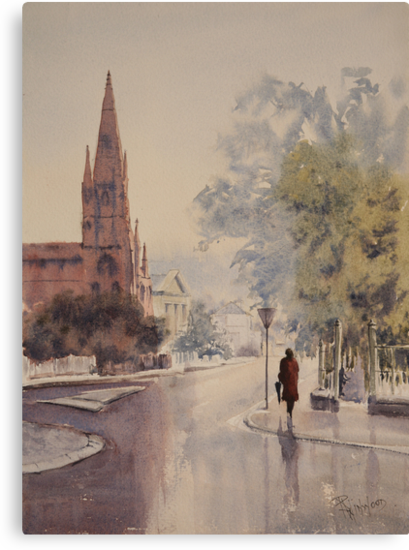 Easing Showers by Pauline Winwood
