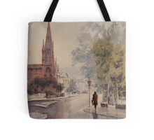 Easing Showers Tote Bag