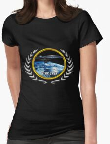 Star trek Federation of Planets excelsior Womens Fitted T-Shirt