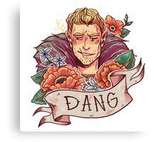 DANG Commander Canvas Print