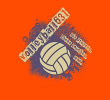 Volleyball 631 Womens Fitted T-Shirt