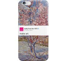 matty healy tweet art iPhone Case/Skin