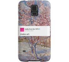 matty healy tweet art Samsung Galaxy Case/Skin