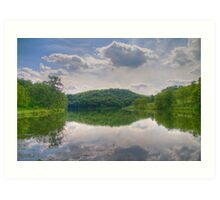 Cox Hollow Lake Art Print