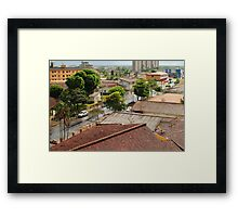 Another rainy day. Framed Print
