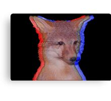 Cool Fox Canvas Print