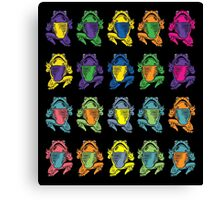 Acid Toads Canvas Print
