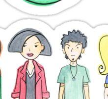 Daria and Friends Sticker
