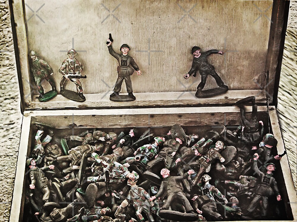 War Is Not A Game by Maria  Gonzalez