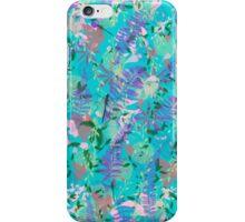 Turquoise Garden iPhone Case/Skin