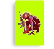 Punk!Winter Soldier Canvas Print