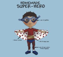 Homemade Super-Hero Kids Clothes