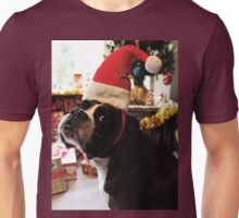 Arwen on Christmas Day  -Boxer Dogs Series- Unisex T-Shirt