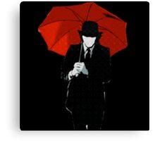 Mayday Parade Red Umbrella Canvas Print