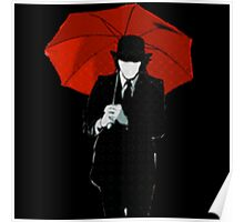Mayday Parade Red Umbrella Poster