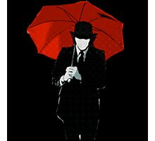 Mayday Parade Red Umbrella Photographic Print