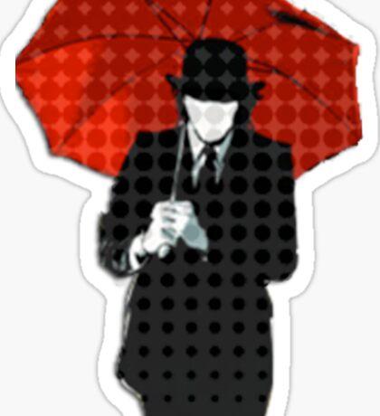 Mayday Parade Red Umbrella Sticker