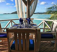 Fine Dining, Antigua Style by Lynne Morris