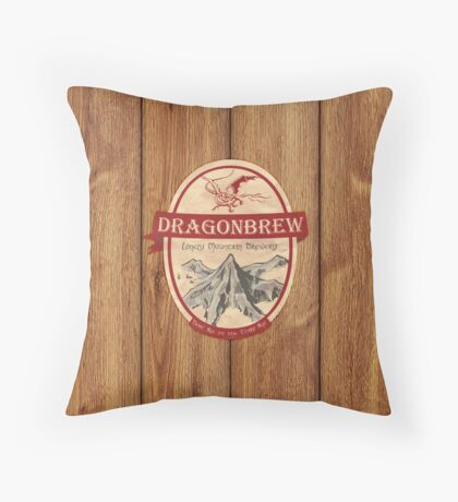 Erebor Dragonbrew Throw Pillow