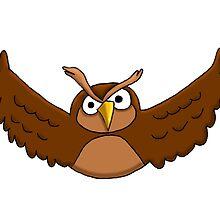 Brown Owl by Dan Morrow