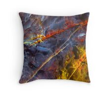 Crossing The Unknown - A Test Of Faith Throw Pillow