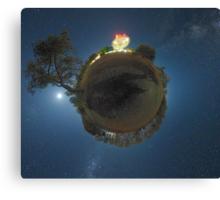 Planet Dish Canvas Print