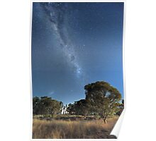 Southern part of The Milky Way  Poster