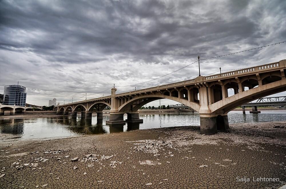 Tempe Town Bridge  by Saija  Lehtonen