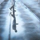 ' Illusion '  120 cm x 200 cm  original painting by Warren Haney