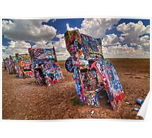 The Cadillac Ranch Poster