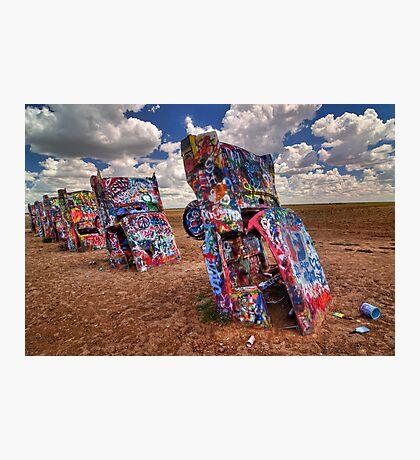 The Cadillac Ranch Photographic Print