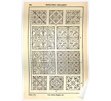A Handbook Of Ornament With Three Hundred Plates Franz Sales Meyer 1896 0300 Repeating Ornament Circle Diaper Poster