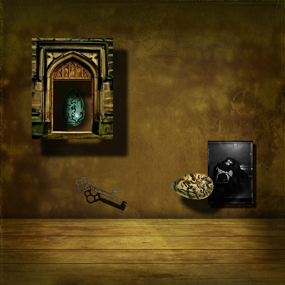 The Key to Solace by Art-e-ology
