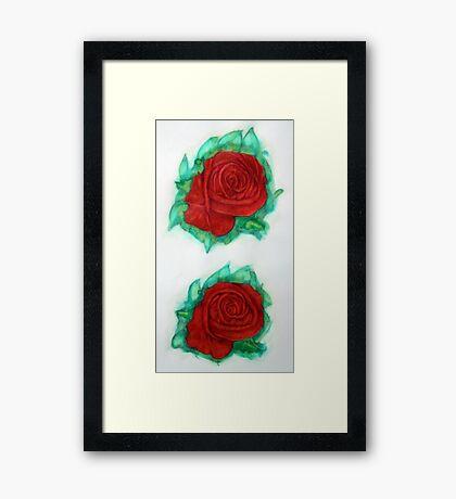 Roses 1985 Framed Print