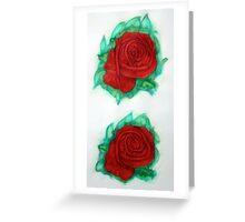 Roses 1985 Greeting Card