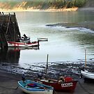 Clovelly Harbour by saxonfenken