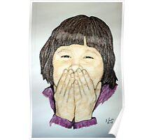 Study of Kayla-Speak No Evil Poster