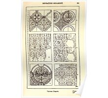 A Handbook Of Ornament With Three Hundred Plates Franz Sales Meyer 1896 0307 Repeating Ornament Various Diaper Poster