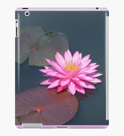 Pink Waterlily iPad Case/Skin
